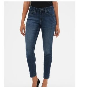 NWT Gap MR Curvy True Skinny Legging Jeans 12 c85